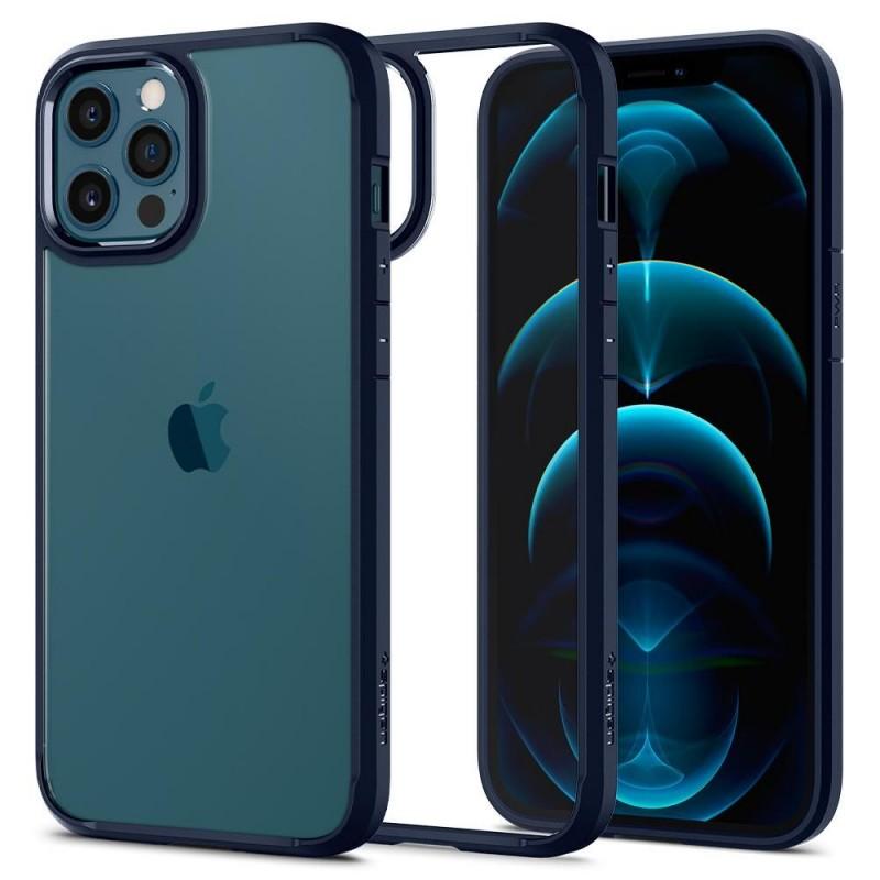 SPIGEN ULTRA HYBRID IPHONE 12 PRO MAX NAVY BLUE