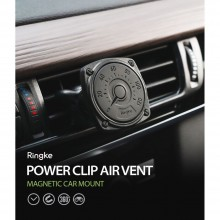 RINGKE POWER CLIP AIR VENT MAGNETIC CAR MOUNT HOLDER