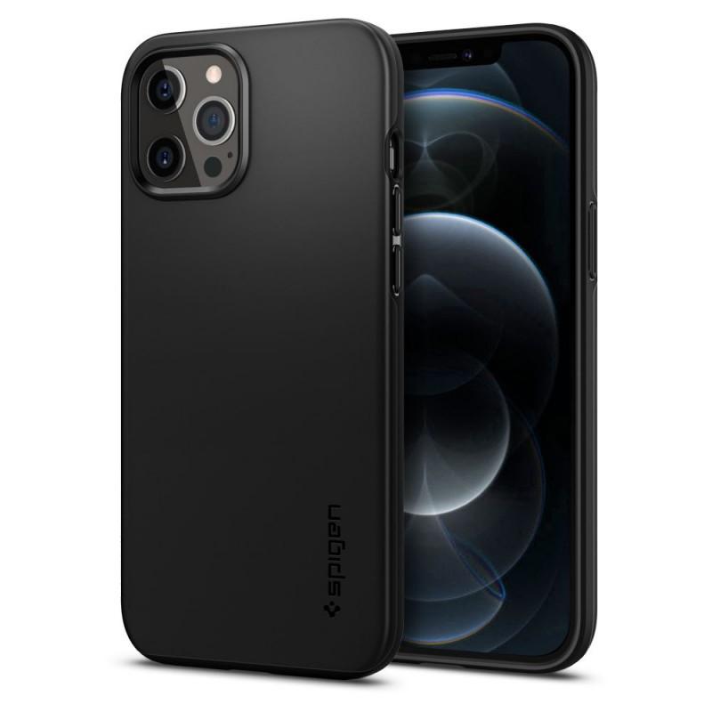 SPIGEN THIN FIT IPHONE 12 PRO MAX BLACK