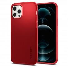 SPIGEN THIN FIT IPHONE 12/12 PRO RED