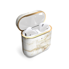 iDeal of Sweden Fashion - etui ochronne do Airpods 1/2 (Golden Pearl Marble)