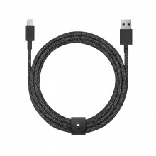 Native Union Belt Cable - kabel Lightning ze skórzanym zapięciem 3m (cosmos)