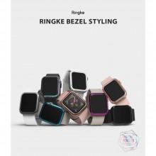 RINGKE BEZEL STYLING APPLE WATCH 4/5/6/SE (40MM) GLOSSY PINK GOLD