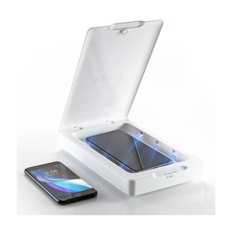 Zagg InvisibleShield UV Sanitizer - lampa UV do dezynfekcji urządzeń mobilnych