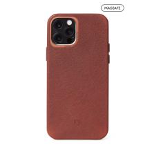 Decoded - obudowa ochronna do iPhone 12 Pro Max z MagSafe (brązowa)