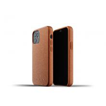 Mujjo Full Leather Case - etui skórzane do iPhone 12 mini (brązowe)