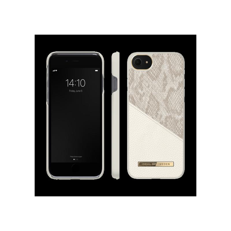 iDeal of Sweden Atelier - etui ochronne do iPhone 8/7/6/6s/SE (Pearl Python)