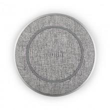 Moshi Otto Q Wireless Charging Pad - Bezprzewodowa ładowarka indukcyjna Qi do iPhone i Android (Nordic Grey)