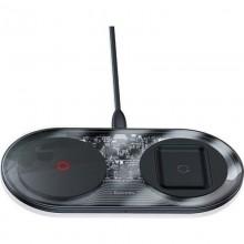 Baseus Simple 2in1 Wireless Charger Turbo Edition 24W (with 12V Charger) (EU) (Qi) - Bezprzewodowa ładowarka indukcyjna QI (czar