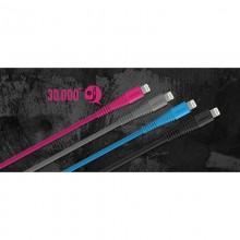 Momax Tough link - Kabel połączeniowy USB do Lightning MFi , 2.4 A, 1.2 m (Gray)