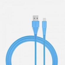 Momax Tough link - Kabel połączeniowy USB do Lightning MFi , 2.4 A, 1.2 m (Blue)