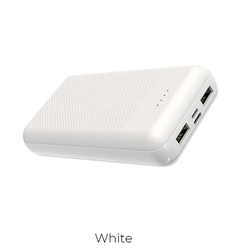 Borofone - power bank 20 000 mAh 74 Wh, biały