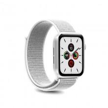 PURO Nylon - Pasek do Apple Watch 38 / 40 mm (Biały)