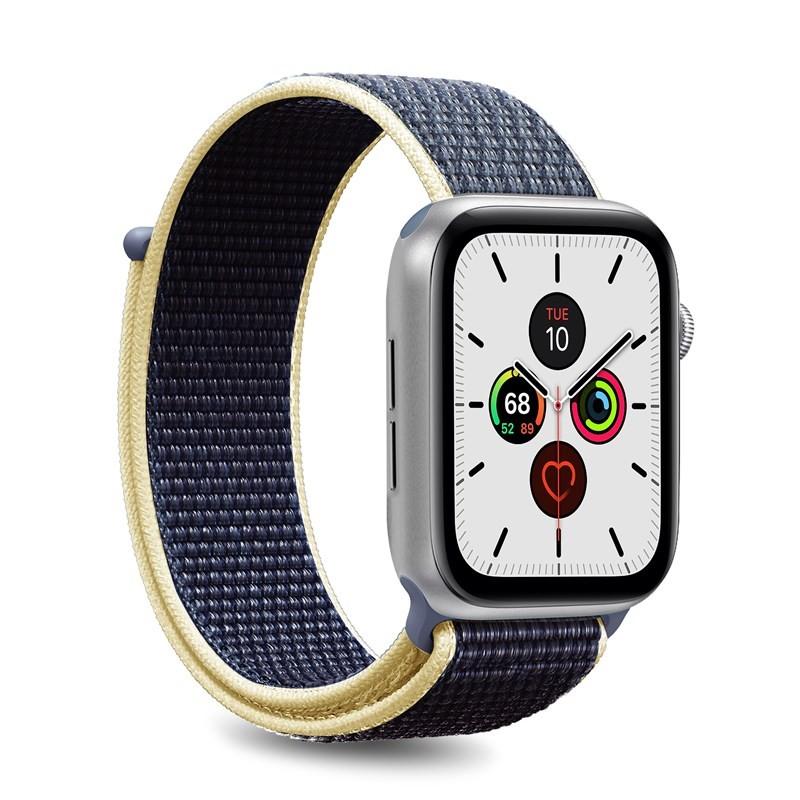 PURO Nylon - Pasek do Apple Watch 42 / 44 mm (Niebieski)