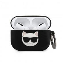 Karl Lagerfeld Choupette 3D - Etui Apple Airpods Pro (black)