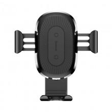 Baseus Wireless Charger Gravity Car Mount - Grawitacyjny uchwyt samochodowy na kratkę wentylacyjną z ładowaniem bezprzewodowym Q