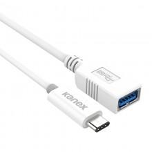 Kanex przejściówka z USB-C na USB żeński (21 cm)