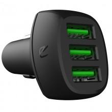 Green Cell - Ładowarka Samochodowa PowerRide 54W 3xUSB 18W Ultra Charge