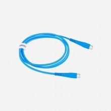 Momax Tough link - Kabel połączeniowy USB-C do USB-C, 1.2 m (Blue)