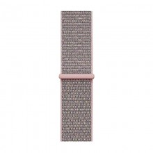 Crong Nylon - Pasek sportowy do Apple Watch 38/40 mm (Light Pink)