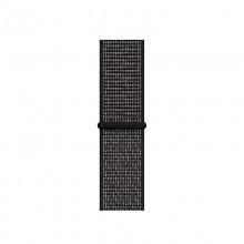 Crong Reflex - Pasek sportowy do Apple Watch 38/40 mm (czarny)