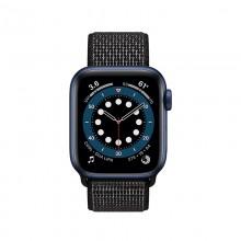 Crong Reflex - Pasek sportowy do Apple Watch 42/44 mm (czarny)