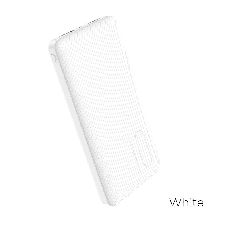 Borofone - power bank 10 000 mAh 37 Wh, biały