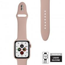 Crong Liquid - Pasek do Apple Watch 42/44 mm (piaskowy róż)