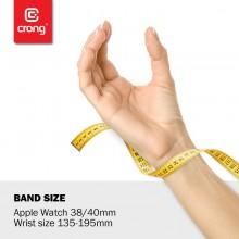 Crong Liquid - Pasek do Apple Watch 38/40 mm (czerwony)