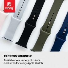 Crong Liquid - Pasek do Apple Watch 42/44 mm (zielony)