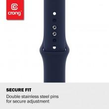 Crong Liquid - Pasek do Apple Watch 42/44 mm (granatowy)