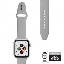 Crong Liquid - Pasek do Apple Watch 42/44 mm (szary)