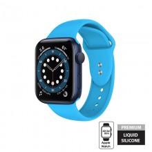Crong Liquid - Pasek do Apple Watch 42/44 mm (niebieski)