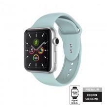 Crong Liquid - Pasek do Apple Watch 42/44 mm (miętowy)