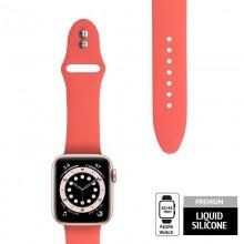 Crong Liquid - Pasek do Apple Watch 42/44mm (koralowy)