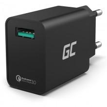 Green Cell - Ładowarka sieciowa USB z funkcją szybkiego ładowania QC 3.0