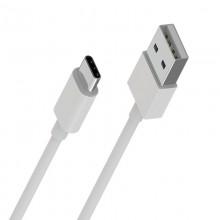 Borofone - Kabel USB-A do USB-C zapakowany w tubę, 1 m (Biały)
