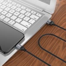 Borofone Diginity - kabel połączeniowy USB do Lightning 1m (czarny)