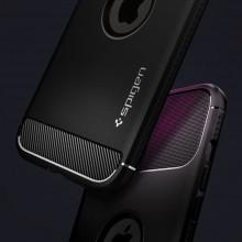 SPIGEN RUGGED ARMOR IPHONE 12 PRO MAX MATTE BLACK