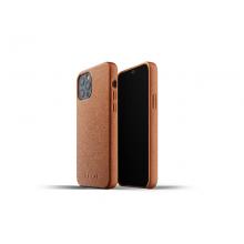 Mujjo Full Leather Case - etui skórzane do iPhone 12/12 Pro (brązowe)