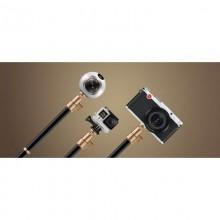 Momax Tripod Pro 6 - Wielofunkcyjny statyw kamery i kij do selfie (130 cm) (Black)