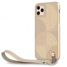 Moshi Altra - Etui z odpinaną smyczką iPhone 11 Pro Max (system SnapTo) (Beige)