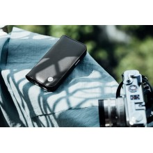Moshi Overture - Etui 3w1 iPhone 12 Pro Max z kieszeniami na karty + stand up (system SnapTo) (Jet Black)