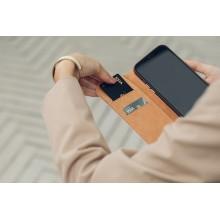 Moshi Overture - Etui 3w1 iPhone 12 Pro Max z kieszeniami na karty + stand up (system SnapTo) (Luna Pink)