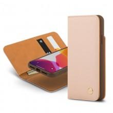 Moshi Overture - Etui 2w1 iPhone 11 Pro Max z kieszeniami na karty + stand up (system SnapTo) (Luna Pink)