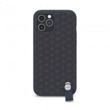 Moshi Altra - Etui z odpinaną smyczką iPhone 12 Pro Max (system SnapTo) (Denim Blue)