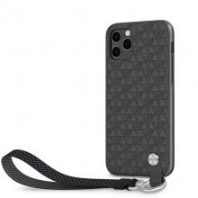 Moshi Altra - Etui z odpinaną smyczką iPhone 11 Pro (system SnapTo) (Shadow Black)