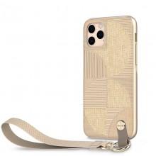 Moshi Altra - Etui z odpinaną smyczką iPhone 11 Pro (system SnapTo) (Sahara Beige)