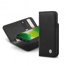 Moshi Overture - Etui 2w1 iPhone 11 Pro z kieszeniami na karty + stand up (system SnapTo) (Charcoal Black)