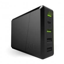 Green Cell Power Source 75W - 4-portowa ładowarka z USB-C PD, Ultra Charge